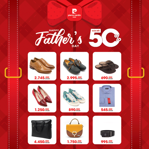 HAPPY FATHER'S DAY CÙNG PIERRE CARDIN SHOES