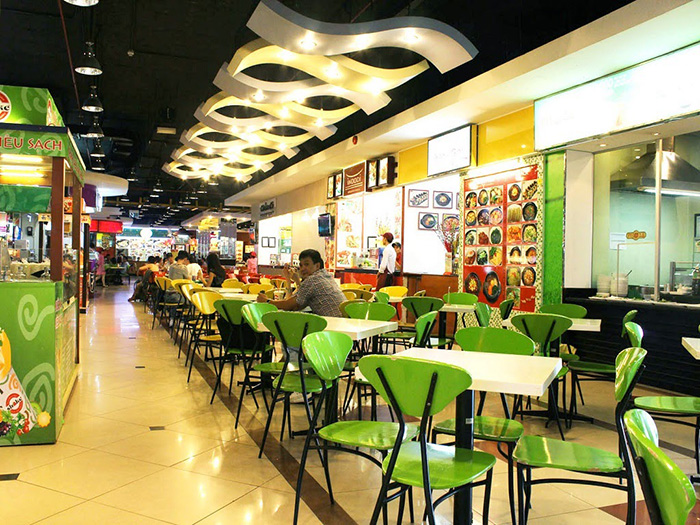 Family Food Court, Parkson Food Court, khu an uong